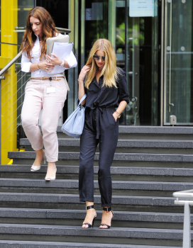 adtXUSZB [Medium Quality] Rosie Huntington Whiteley out in London 8/21/13 high resolution candids