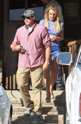 Britney Spears - out for lunch in LA 4/12/13