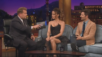 Kate Beckinsale - The Late Late Show with James Corden 2nd August 2017 1080i HDMania