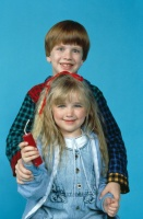 Трудный ребенок 2 / Problem Child 2 (Джон Риттер, Джек Уорден, Майкл Оливер, 1991) HRdFlLCd