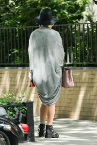 Jennifer Lawrence  out with her dog 14
