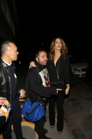 Cindy Crawford - At the Nine Zero One Salon Opening in LA 2/4/16