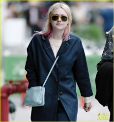 Dakota Fanning - out in NYC 4/11/13
