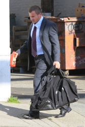 Dominic Purcell on the set of 'Bailout: The Age of Greed' - April 27, 2012 - 17xHQ MkKoybw0