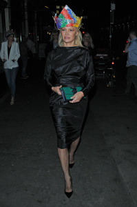 Pamela Anderson - At Vivienne Westwood's Fashion Club Night At Fabric in London - February 20th 2017