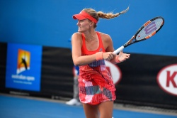 Kristina Mladenovic - 2016 Australian Open Women's Singles Second Round @ Melbourne Park in Melbourne - 01/20/16