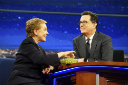 Julie Andrews - The Late Show with Stephen Colbert: February 17th 2017