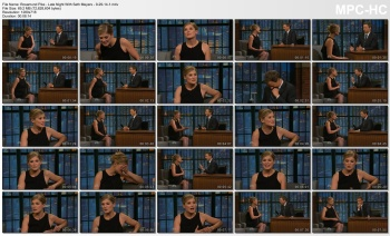 Rosamund Pike - Late Night With Seth Meyers - 9-29-14