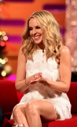 Kylie Minogue - The Graham Norton Show Series 18 Episode 12 @ The London Studios in London 12/17/15