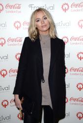 Ianthe Rose Cochrane - Coca Cola London Eye Frostival Eyeskate @ The London Eye in London - 11/18/15