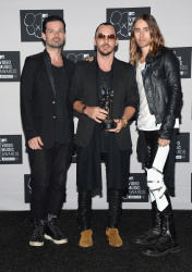 Jared Leto and 30 Seconds to Mars – 2013 MTV Video Music Awards, NYC Aug.