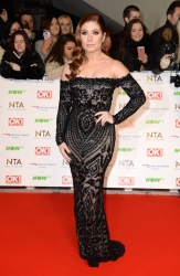 Nikki Sanderson - 21st National Television Awards @ The O2 Arena in London - 01/20/16