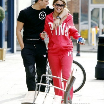 Ferne McCann with Charlie Sims on Friday, March 21, 2014 at London