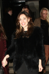 Kelly Brook - leaving Morton's Club in London 4/13/13