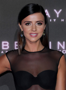 Lucy Mecklenburgh - Maybelline 'Bring on the Night Party' for London Fashion Week - February 18th 2017