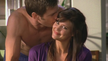 "Sarah Lancaster - Chuck (2008) S02 E02 ""Cleavage"" 