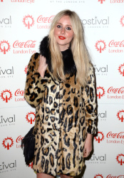 Diana Vickers - Coca Cola London Eye Frostival Eyeskate @ The London Eye in London - 11/18/15