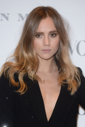 Suki Waterhouse - Vogue 100: A Century Of Style @ the National Portrait Gallery in London - 02/09/16