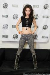 Erin Sanders - Bottlerock music festival in Napa Valley - May 2013