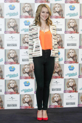 Bridgit Mendler - at the launch of her new album 'Hello, My Name Is' in Madrid 2/25/13