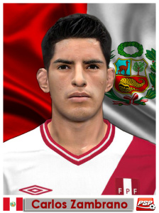 Download Carlos Zambrano Face PES2014 by m4rc310