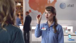 "Milana Vayntrub - AT&T Commercial ""Zero"""