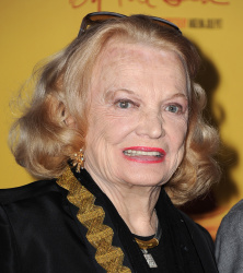 Gena Rowlands - AFI FEST 2015 Opening Night Gala: By The Sea Premiere @ TCL Chinese 6 Theaters in Hollywood - 11/05/15