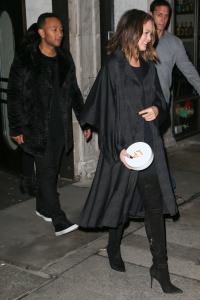 Chrissy Teigen - After Date Night In New York - February 15th 2017