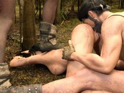 Avo3dart - Lara Groft bondage