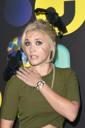 Emily Osment - 2015 Just Jared Halloween Party @ No Vacancy in Los Angeles - 10/31/15