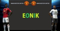 Manchester United Home and Away Fantasy Kits by Eonik