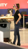 Nina Dobrev at LAX Airport (March 27) JnYjFYnt