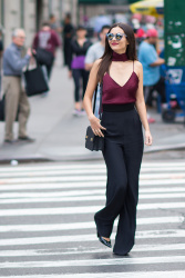 Victoria Justice - Out & About in NYC - 10/17/16