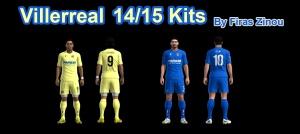 Download PES 2013 Villarreal 14/15 Kits by Firas Zinou