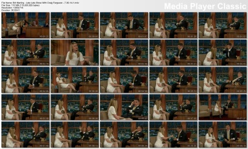 Brit Marling - Late Late Show With Craig Ferguson - 7-30-14