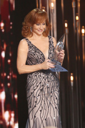 Reba McEntire - 49th Annual CMA Awards @ the Bridgestone Arena in Nashville - 11/04/15