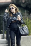Jane Seymour picks up a cup of coffee from a local coffee place in Malibu December 22-2015 x18
