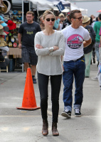 Amber Heard - at the Melrose Flea Market - 1/27/14