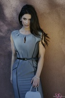 Дениз Милани, фото 5004. Denise Milani Business Suit (High Res) :, foto 5004