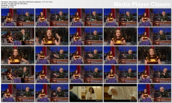 Olivia Wilde - Late Show With David Letterman - 6-17-14