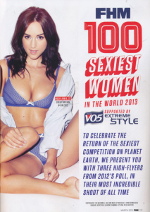 FHM Magazine - 100 Sexiest Women In The World (2013)