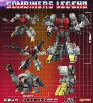 [GCreation] Produit Tiers - Jouet ShuraKing - aka Combiner Dinobots - Page 2 CzvBoaGE