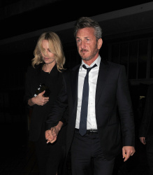 Sean Penn - Charlize Theron and Sean Penn - seen leaving Royal Festival Hall. London - February 16, 2015 (153xHQ) BdHYrhYI