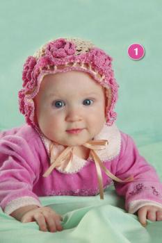 Вязание для девочек летних шапочек