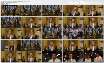 Drew Barrymore - Live with Kelly & Michael - 5-15-14