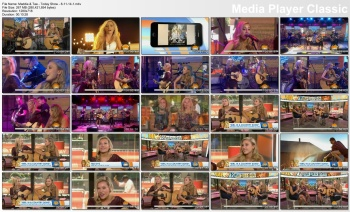 Maddie & Tae - Today Show - 8-11-14