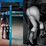 Gatas QB - Kim Kardashian nua Revista Love