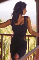 Дениз Милани, фото 5716. Denise Milani Black Dress 2012 :, foto 5716