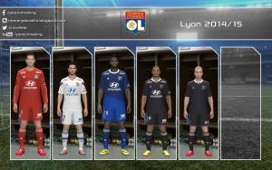Download PES 2014 Lyon 2014-15 GDB by Nemanja