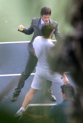 "Ian Somerhalder - Has a Fight Scene on the Set of ""Time Framed"" 2012.10.21 - 22xHQ KMP2fF7A"